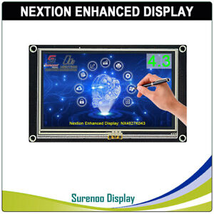 4 3 Nextion Enhanced Hmi Intelligent Smart Usart Serial Lcd Module Display