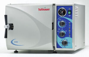 New Tuttnauer 2340m Manual Steam Autoclave Dental Medical Sterilizer