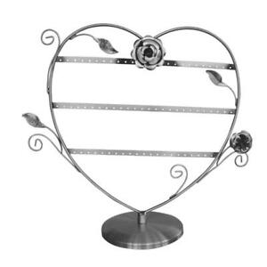 Antique Silver Color Wire Earring Display Stand