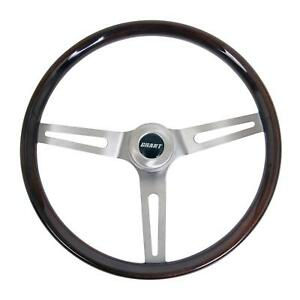 Grant Classic Gm Wood Steering Wheel 14 5 Dia 3 Spoke 3 Dish 973