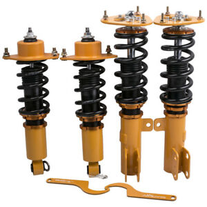 Racing Coilovers Kits For Toyota Corolla 09 17 E140 Adj Height Suspension Shocks