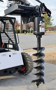Bobcat Skid Steer Attachment Lowe Bp210 Hex Auger Drive With 15 Bit Ship 199