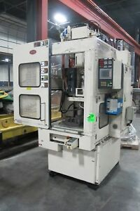 Nissei Model St20r2v Cnc Vertical Injection Plastic Injection Molding Machine N