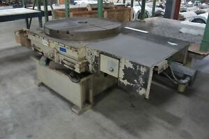 Giddings Lewis Model 48 Cnc Full Contouring Rotary Table New 1993