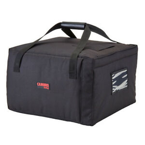 Cambro Gbp518110 Black Pizza Delivery Bag 5 18 Pizza Capacity Case Of 4