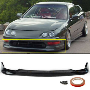Fit 98 01 Acura Integra Dc2 Tr Style Front Bumper Lip Spoiler Jdm Polyurethane