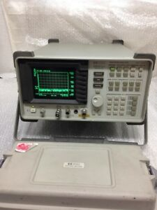 Hp 8590a 10khz 1 5ghz Spectrum Analyzer