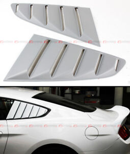 For 2015 18 Ford Mustang Vintage 1 4 Quarter Side Window Louver Vent Cover Scoop