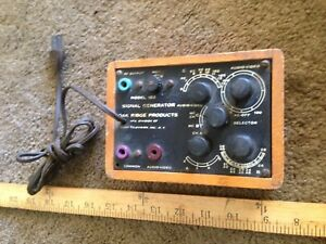 Vintage Meters Signal Generator Oak Ridge Products