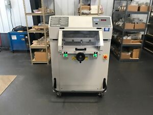 Challenge Titan 200m Hydraulic Paper Cutter 2006 Fully Serviced
