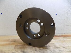 Gibraltar Adapter Back Plate For 10 Diameter Lathe Chucks A1 a2 8 Mount