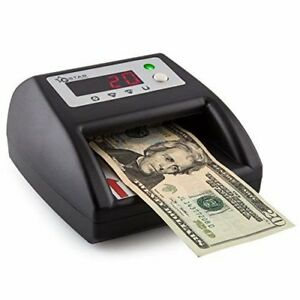 G star Technology Counterfeit Bill Money Detector Counter Uv mg ir im Detection