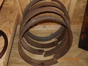 Split Rims 25 Inches For 34 X 4 5 Antique Wooden Wheel Buick 1918 1919 1920