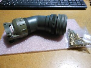 Bendix Connector With Contacts Part 10 214936 15s Nsn 5935 00 443 8853
