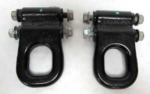2003 2009 Hummer H2 Awd Front Tow Hooks Hook Left Right Pair Set Of 2 Oem Pr