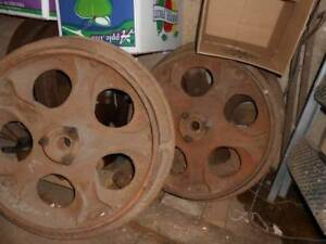 Farmall M Front Steel Wheels Antique Tractor