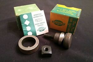 Greenlee Model 732 1 11 64 Round Radio Chassis Knockout Punch Die