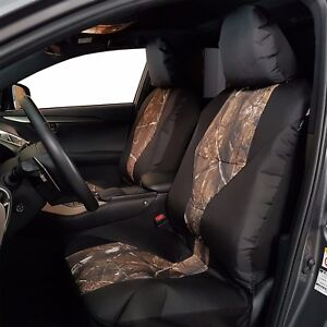 2pcs New Front Camo Waterproof Canvas Car Seat Covers For Toyota Tacoma