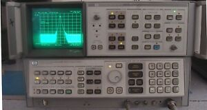 Hp Agilent 8566b 22 Ghz Spectrum Analyzer W Opt Extras Nist Calibrated