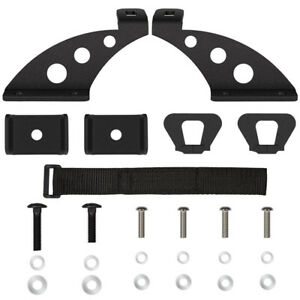 Hi Lift Jack Mount Hood Hinge Bracket Kit For 07 18 Jeep Wrangler Jk Off Road
