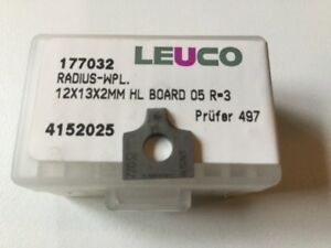 Leuco Profile Knife Inserts 177032 Pack Of 10