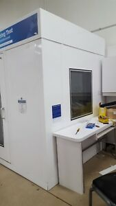 Audiology Sound Booth Testing Booth Iac Ready For Delivery And Installation