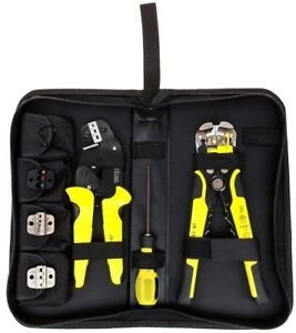 Wire Crimping Tool Kit 4 In 1 Multi Tools Engineering Ratchet Terminal Crimping