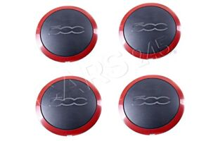 Genuine Fiat Wheel Cover Caps 4pcs 0051877477