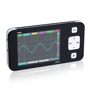 Nano dso211 pocket sized handheld digital storage oscilloscope replace dso201 N