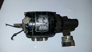 Vinatge Bodine Electric Company Speed Reducer Motor Type Nse 12rh