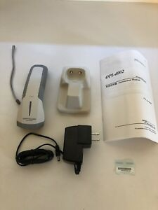 Opticon opi 4002 Handheld barcode scanner wireless white 1d 2d Less Usb Adapter