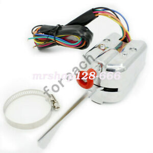 12v Universal Street Auto Rod Column Mount Turn Signal Switch For Ford Buick Gm