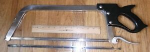 Haban Meat Hand Saw Hsf60100 19 Blade Used Ships Free