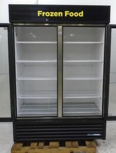 True 2 Door Glass Door Merchandiser Freezer Gdm 49f ld 115 208v