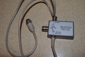 wiltron Swr Autotester Model 560 97nf50 10mhz To 18ghz