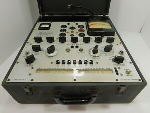 Hickok 536 Mutual Conductance Tube Tester For Parts Or Restoration Sn 4610151