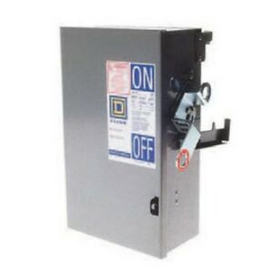 Square D Pq3610g 100 Amp 600 Volt 3p3w Fusible Busway Switch Bus Plug New In Box