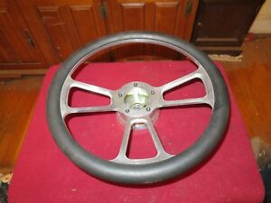 Chevy Olds Buick Pontiac Aluminum Steering Wheel