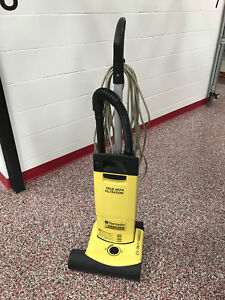Tornado Cv38 Commercial Upright Vacuum With Hepa Filter Used