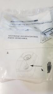 Physio Control Lifepak 12 Therapy Cable Shield Ref 3203003 0001 a