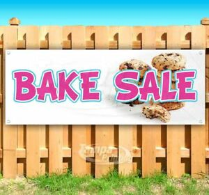 Bake Sale Advertising Vinyl Banner Flag Sign Many Sizes