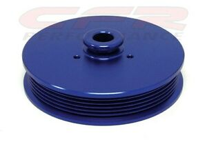 Mustang Gt 5 0 V8 Anodized Blue Billet Power Steering Pulley