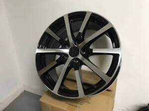 19 Black Accord Hfp Sport Style Rims Wheels Fits Honda Acura Tsx Tl Civic