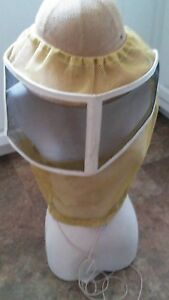 Beekeeping Veil Stingless Round Honey Sting Bees Keeper Hat Farm Hives Safety