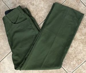 Fss Aramid Wildland Firefighter Pants Green Made In Usa Women s Size 16x30