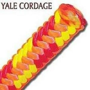 Yale Xtc 16 Fire 16 Strand Tree Climbing Rope With Spliced Eye 6 200 Tensile St
