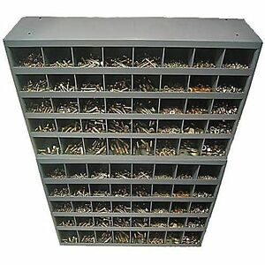 Mega Grade 8 Coarse Thread Assortment 2 40 Hole Metal Storage Bins 8590 Pieces