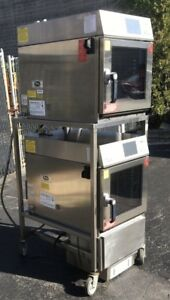 Dual Cleveland Convotherm Easytouch Model Oes 6 10 Mini Combi Ovens W Rack