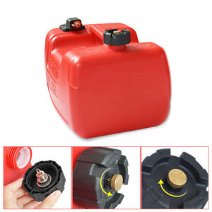 12l Portable Fuel Tank W connector 3 2 Gallon For Yamaha Boat Outboard Machine