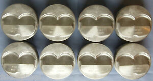 Speed Pro Chevy 350 383 Hypereutectic 9 5cc Dome Pistons Moly Rings 12 3 1 40